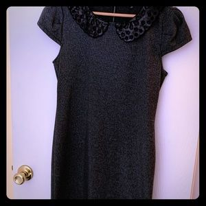 Dress with Sequence Collar!